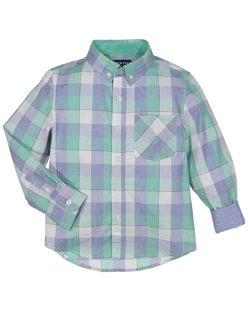 FOR GENTLEMEN CHECKERED PRINT SHIRT