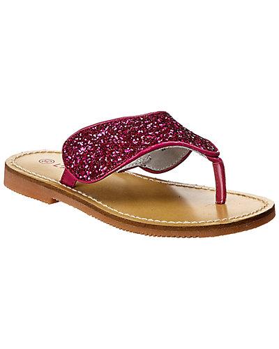 Rue La La — L'Amour Fashion Glitter Thong Sandal