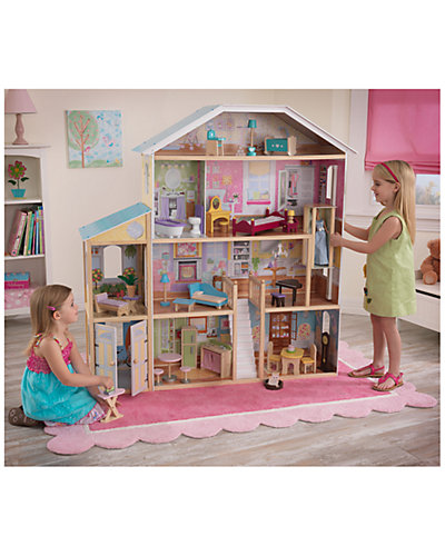 "KidKraft ""Majestic Mansion"" Dollhouse with Furniture"