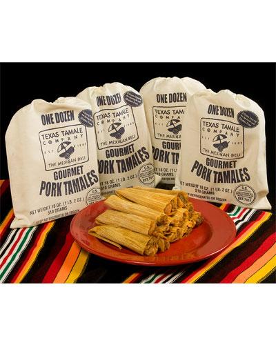 Texas Tamale Co. 48 Pork Tamales