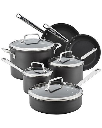 Anolon Authority Hard Anodized 10pc Nonstick Cookware Set
