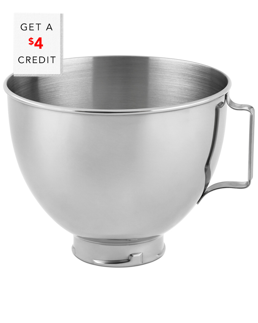 Kitchenaid 4.5Qt Bowl, Polished Stainless Steel With Handle photo