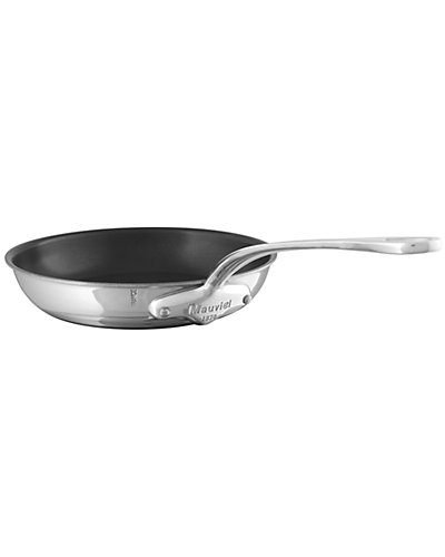 Mauviel M'Cook Non-Stick Frying Pan with Cast Stainless Steel Handle