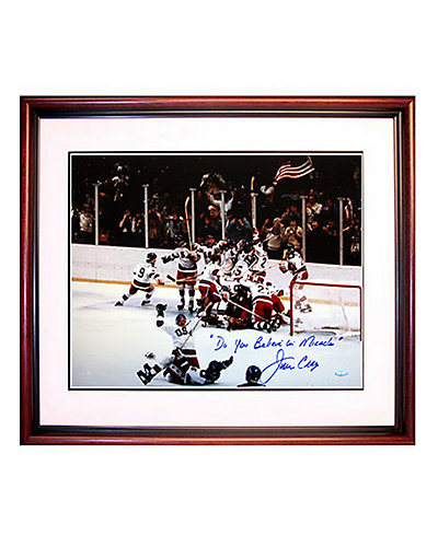 """Steiner Sports Signed Jim Craig """"Miracle"""" Photo"""