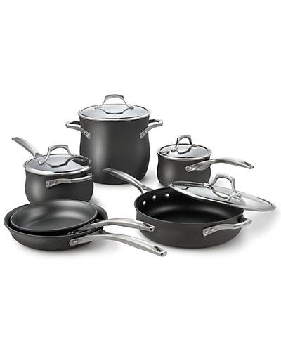 "Calphalon ""Unison"" 10pc Nonstick Cookware Set"