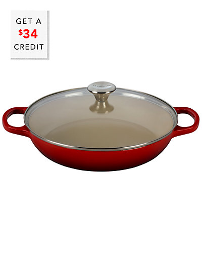 Le Creuset 3.5qt Buffet Casserole with Glass Lid