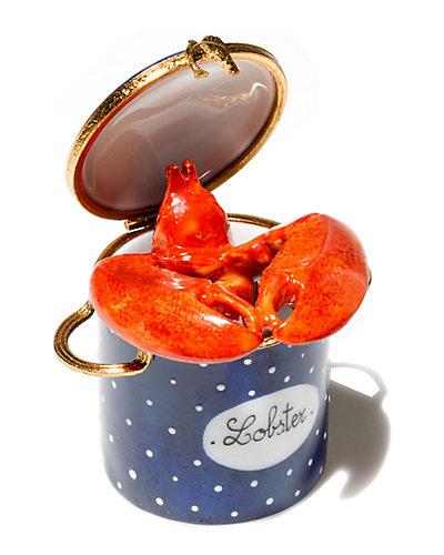 Rochard Limoges Lobster Pot Box
