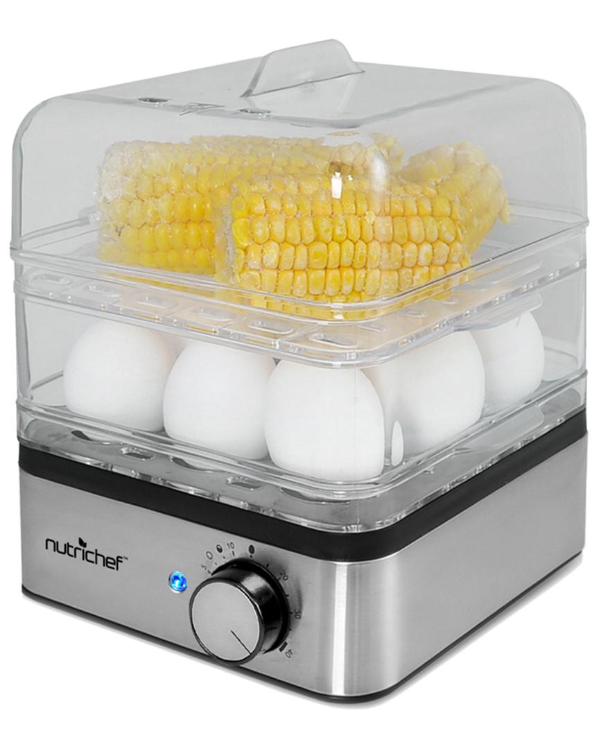 Nutrichef Electronic Food Steamer Egg Cooker & Boiler photo
