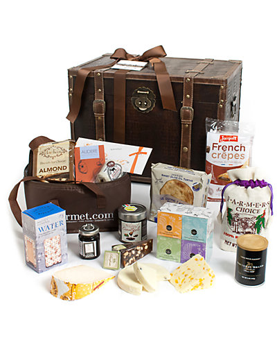 igourmet Gourmet Treasures for Her Gift Trunk