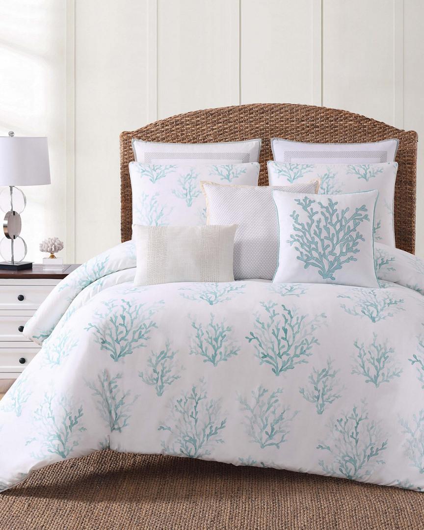 Oceanfront Resort Cove Green Comforter Set (Home & Garden Linens & Bedding Bedding) photo