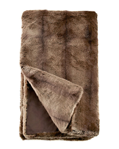 Fabulous Faux Fur Couture Puma Throw