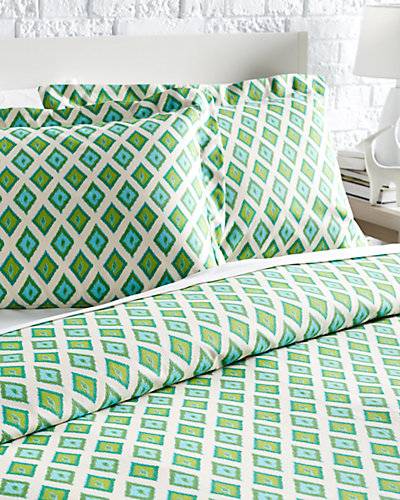 "Chooty & Co. ""Carnival Grasshopper"" Duvet Set"