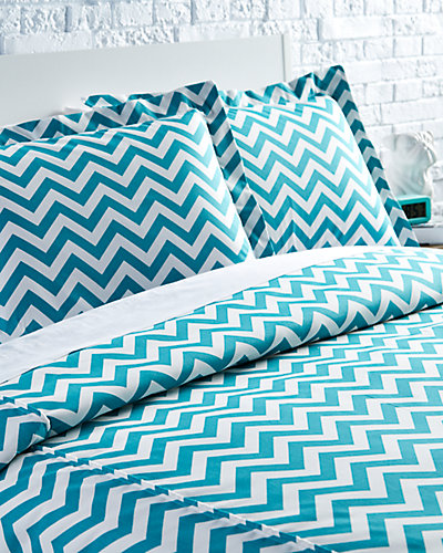 "Chooty & Co. ""Zig Zag"" Duvet Set"