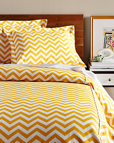 Chooty & Co. Zigzag Duvet Set