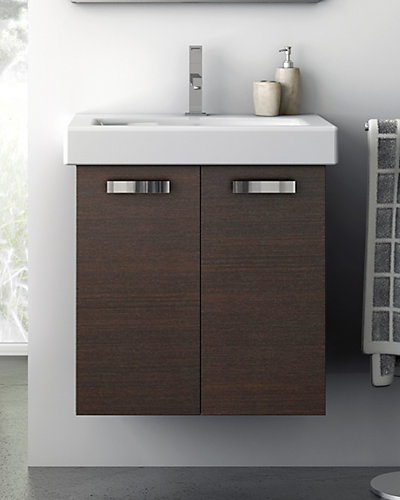 Nameeks Wenge 23in Bathroom Vanity