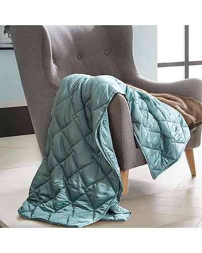 Rejuve Bamboo Weighted Throw Blanket seen on Trendy at Wendy deals