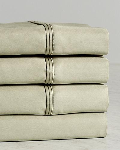 1200TC 100% Premium Long-Staple Combed Cotton Solid Sheet Set