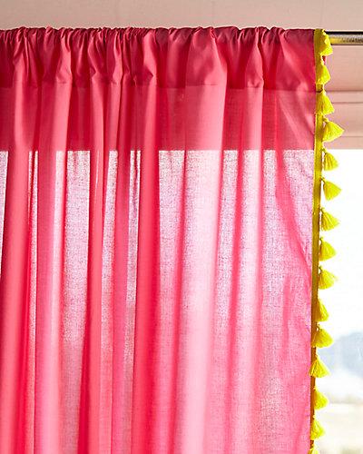 Serena & Lily Tassel Reversible Window Panel