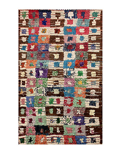 Pittman Hand-Knotted 4 ft 5 in x 5 ft 11 in Rug
