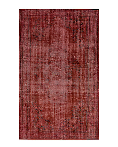 Vintage Hand-Knotted 5 ft 4 in x 8 ft 3 in Rug