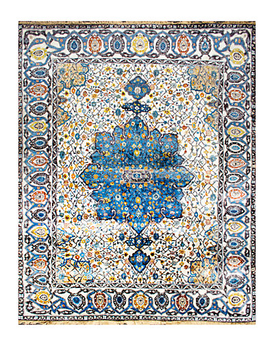 Fidelia Hand-Knotted 8 ft x 10 ft Rug