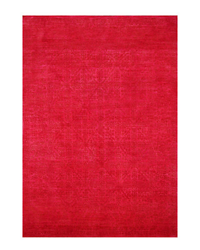 Vintage Hand-Knotted 8 ft 7 in x 12 ft 1 in Rug