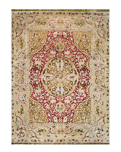 Mitzie Hand-Knotted 9 ft x 12 ft Rug