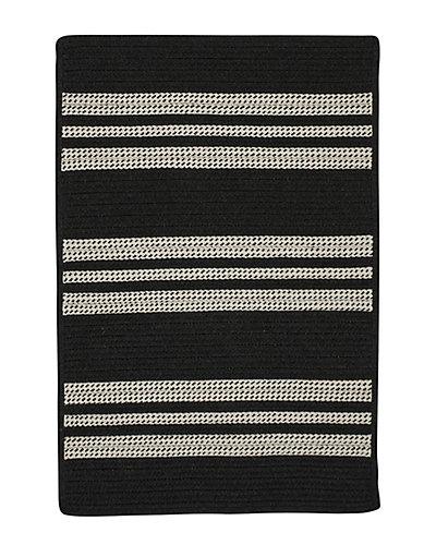 Sunbrella Southport Stripe Braided Rug