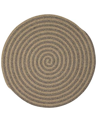 Woodland Round Braided Rug