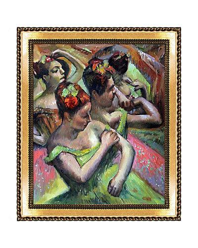 Ballerinas Adjusting Their Dresses by Edgar Degas