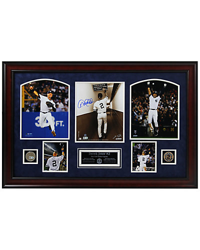 Derek Jeter 2 Final Games Signed Collage by Steiner Sports