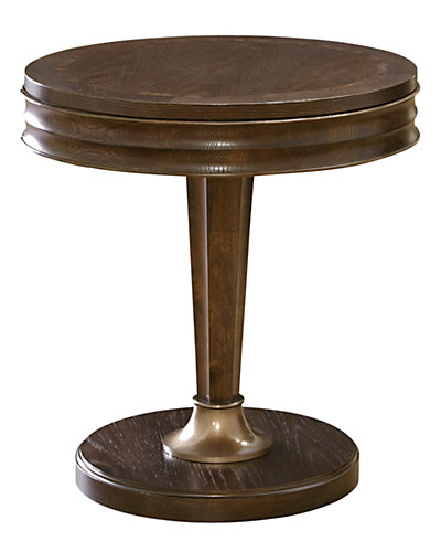 Hollywood Hills Round End Table