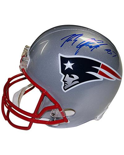 Steiner Sports Rob Gronkowski Signed New England Patriots Replica Helmet