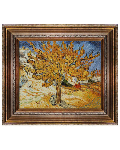The Mulberry Tree by Vincent Van Gogh  Oil Reproduction