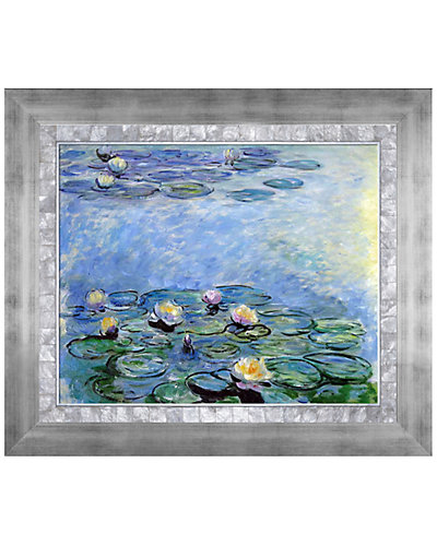 Water Lilies (Blue/Grey) by Claude Monet