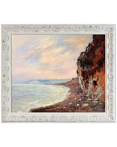 Cliffs at Pourville in the Fog by Claude Monet