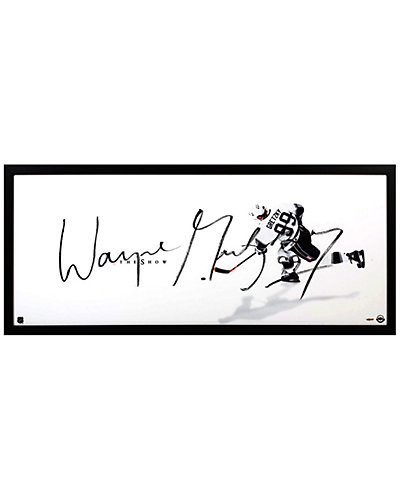 Wayne Gretzky Signed LA Kings The Show Framed Display by Steiner Sports