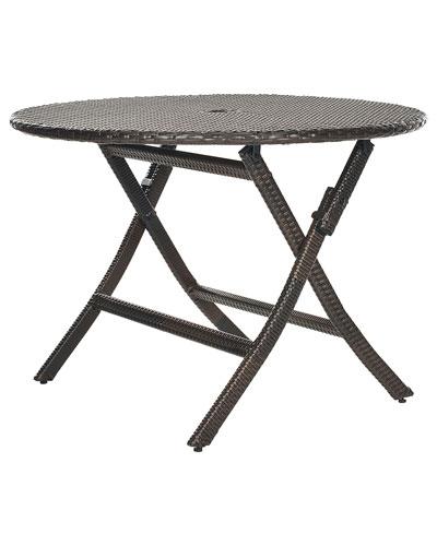 Patio Ellis Round Folding Table