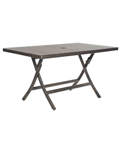 Patio Dilettie Folding Table