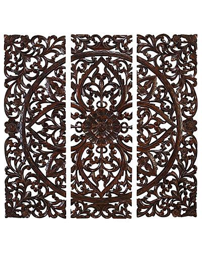 Set of 3 Wood Panels