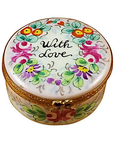 Rochard Limoges Round with Love Studio Collection