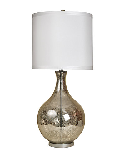 35.5in Classical Urn Mercury Glass Table Lamp