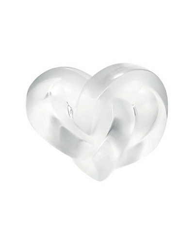 Lalique Hearts Paperweight