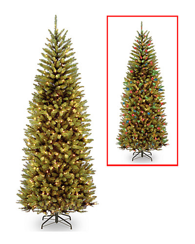 7.5ft Kingswood Fir Slim Hinged Tree with 450 Dual Color(R) LED Lights