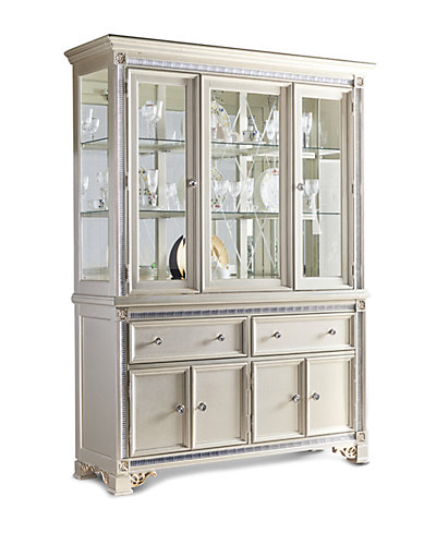 Oasis Home Tiffany China Cabinet