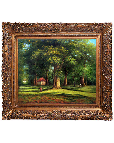 The Forest by Camille Pissarro Framed Hand Painted Oil Reproduction