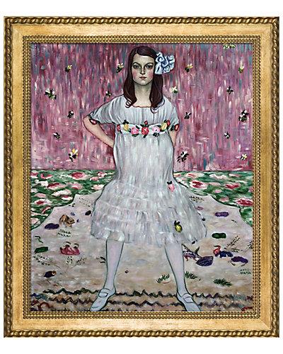 Portrait of Mada Primavesi by Gustav Klimt Framed Hand Painted Oil Reproduction