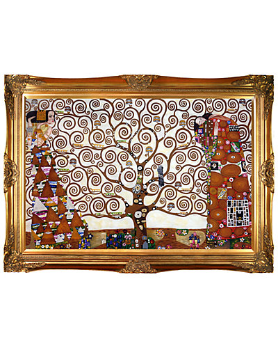 The Tree of Life, Stoclet Frieze, 1909 by Gustav Klimt Oil Reproduction
