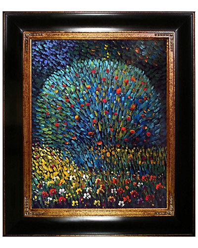 Apple Tree by Gustav Klimt Oil Reproduction