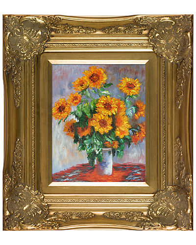 Sunflowers by Claude Monet Oil Reproduction